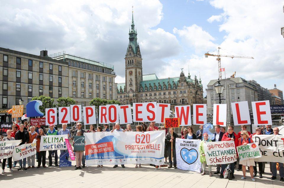Neue deutsche Welle in Hamburg am 2. Juli 2017